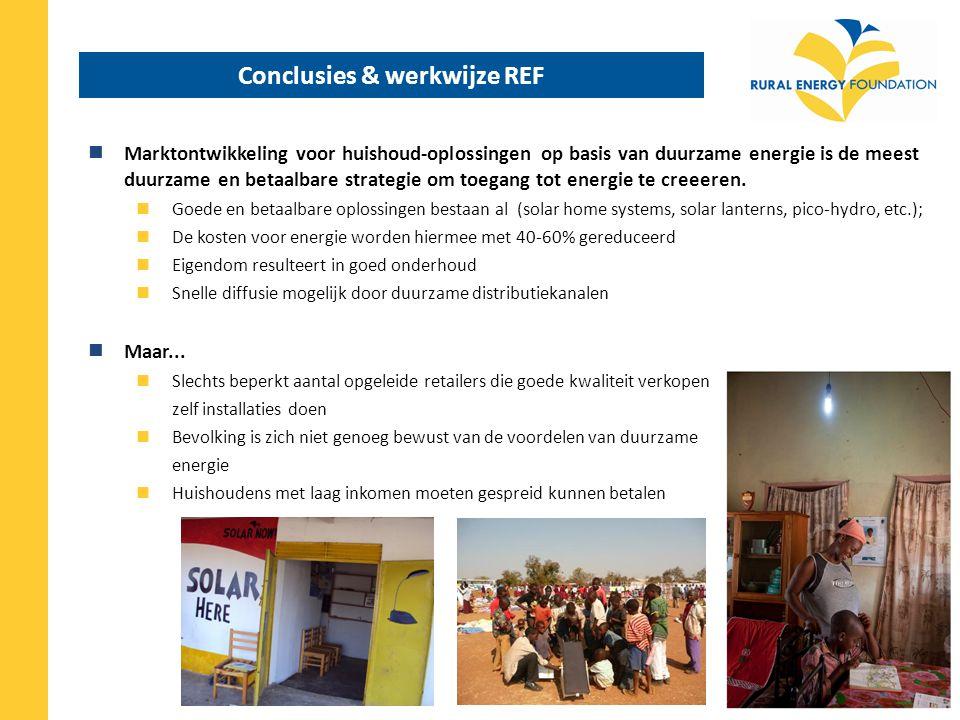 Conclusies & werkwijze REF