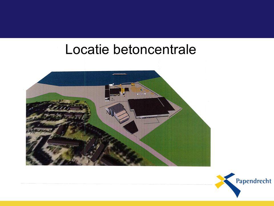 Locatie betoncentrale