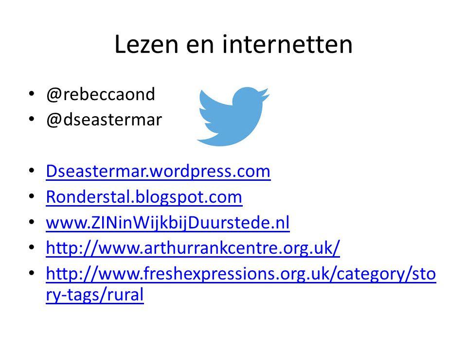 Lezen en internetten @rebeccaond @dseastermar