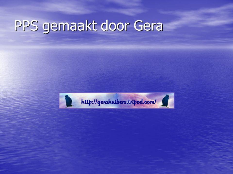 PPS gemaakt door Gera