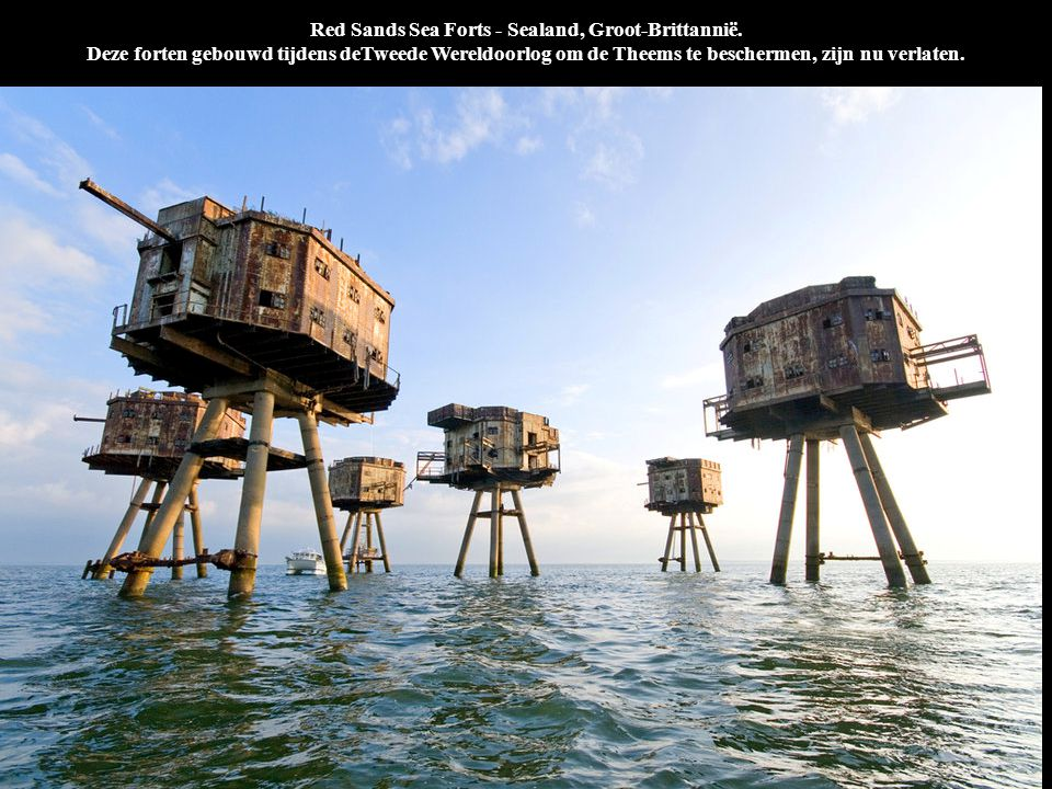 Red Sands Sea Forts - Sealand, Groot-Brittannië