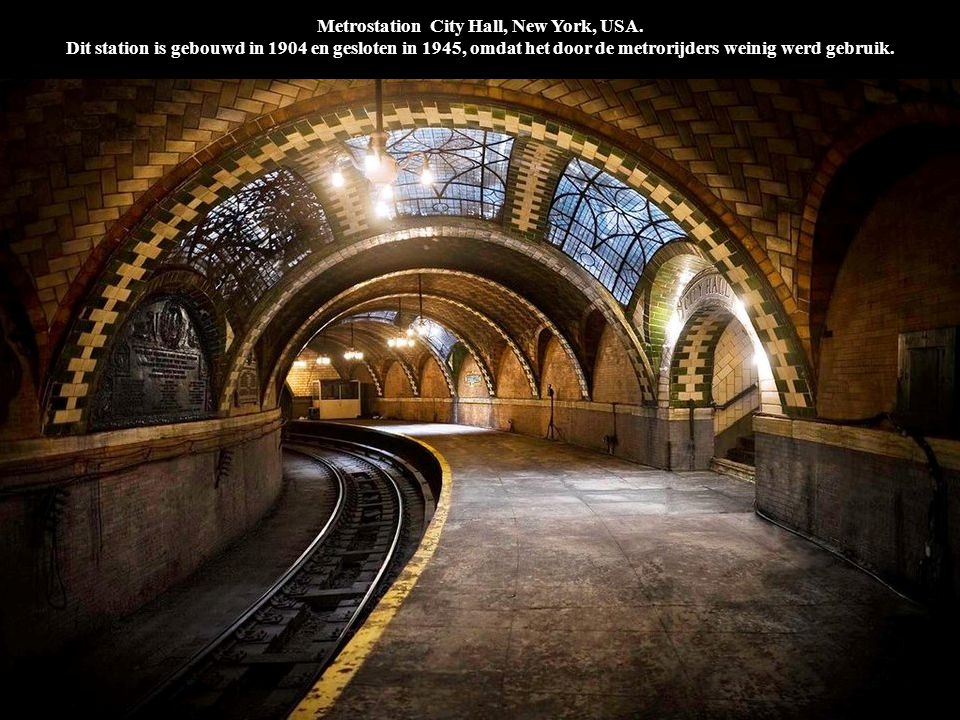 Metrostation City Hall, New York, USA
