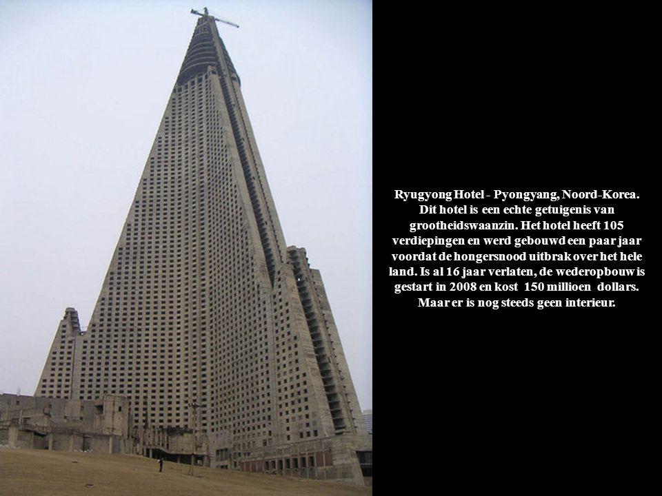 Ryugyong Hotel - Pyongyang, Noord-Korea