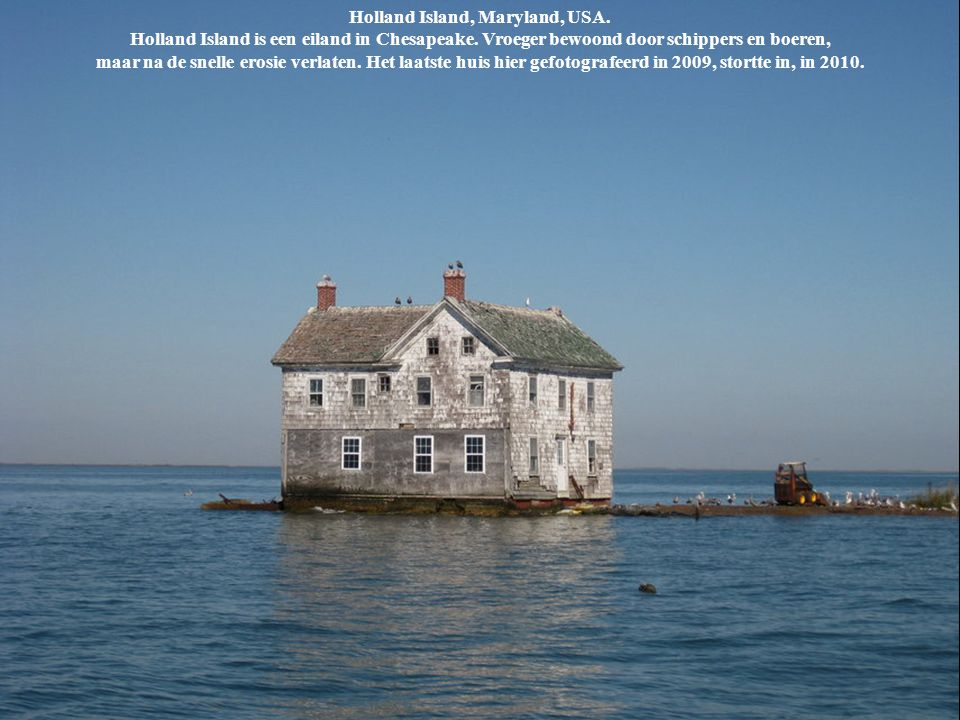 Holland Island, Maryland, USA