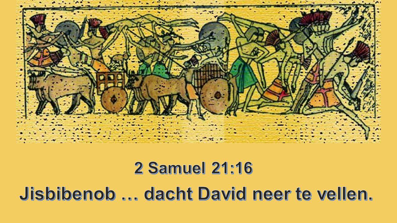 Jisbibenob … dacht David neer te vellen.