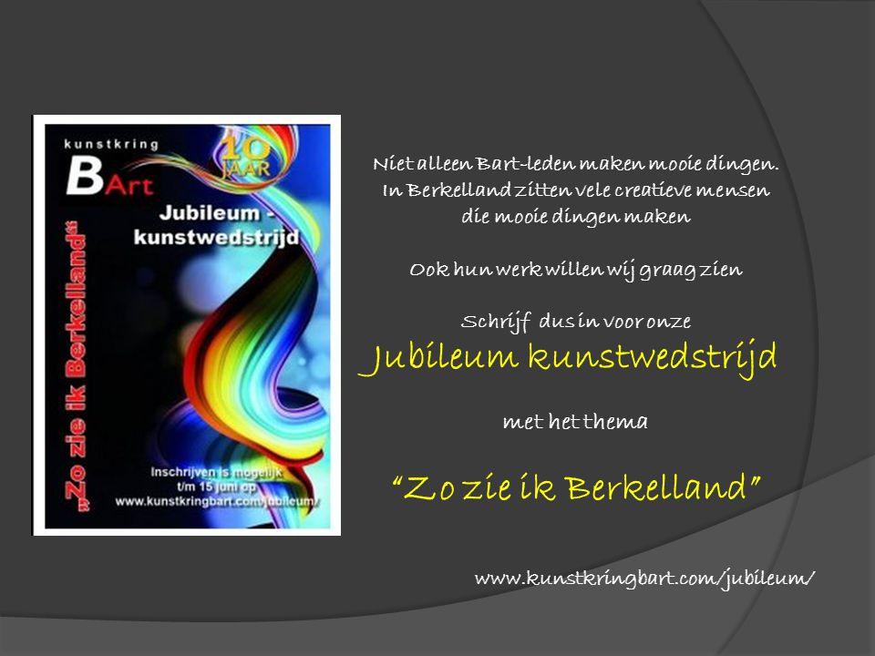 Jubileum kunstwedstrijd Zo zie ik Berkelland