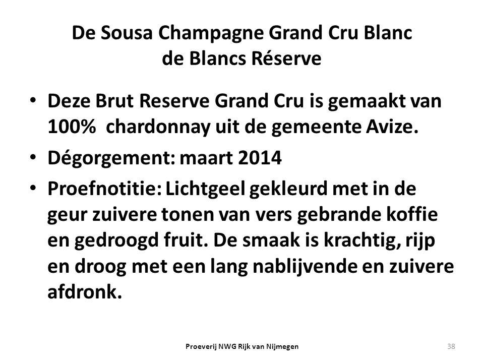 De Sousa Champagne Grand Cru Blanc de Blancs Réserve