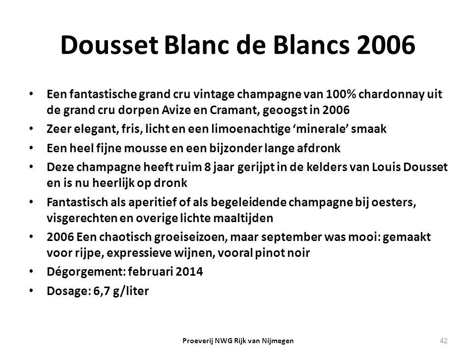 Dousset Blanc de Blancs 2006