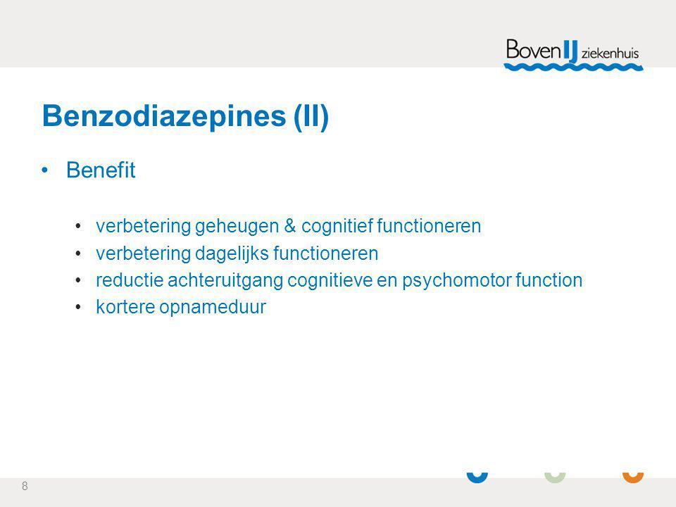 Benzodiazepines (II) Benefit