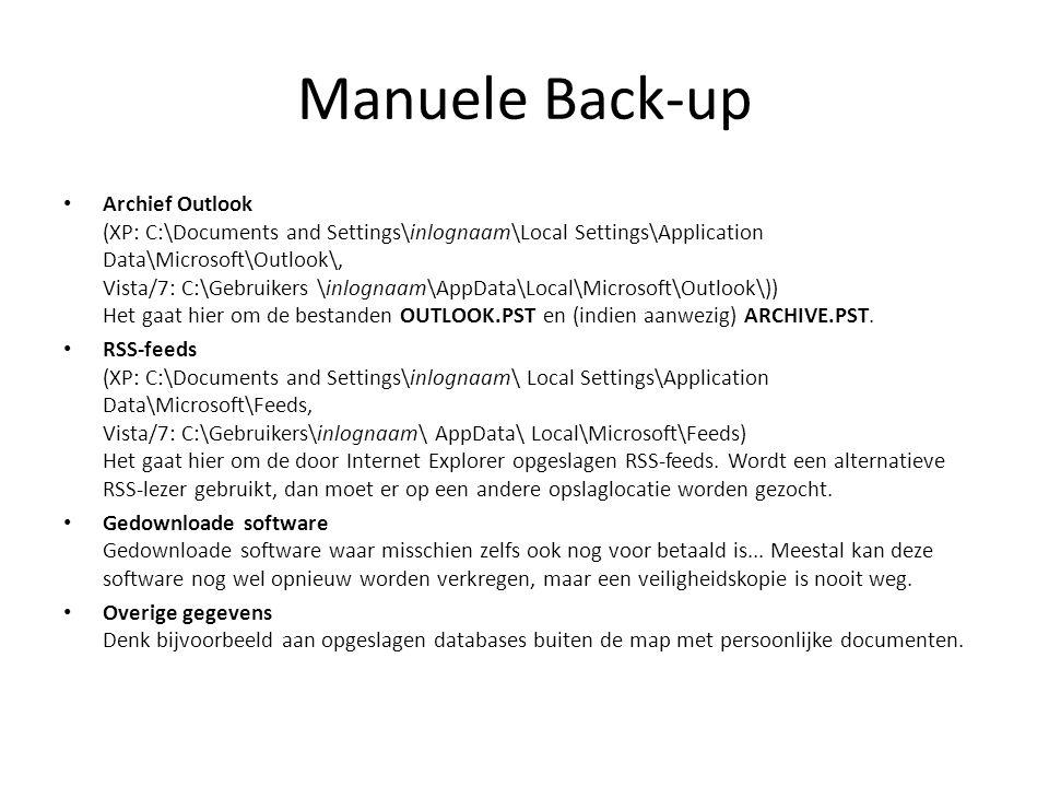 Manuele Back-up
