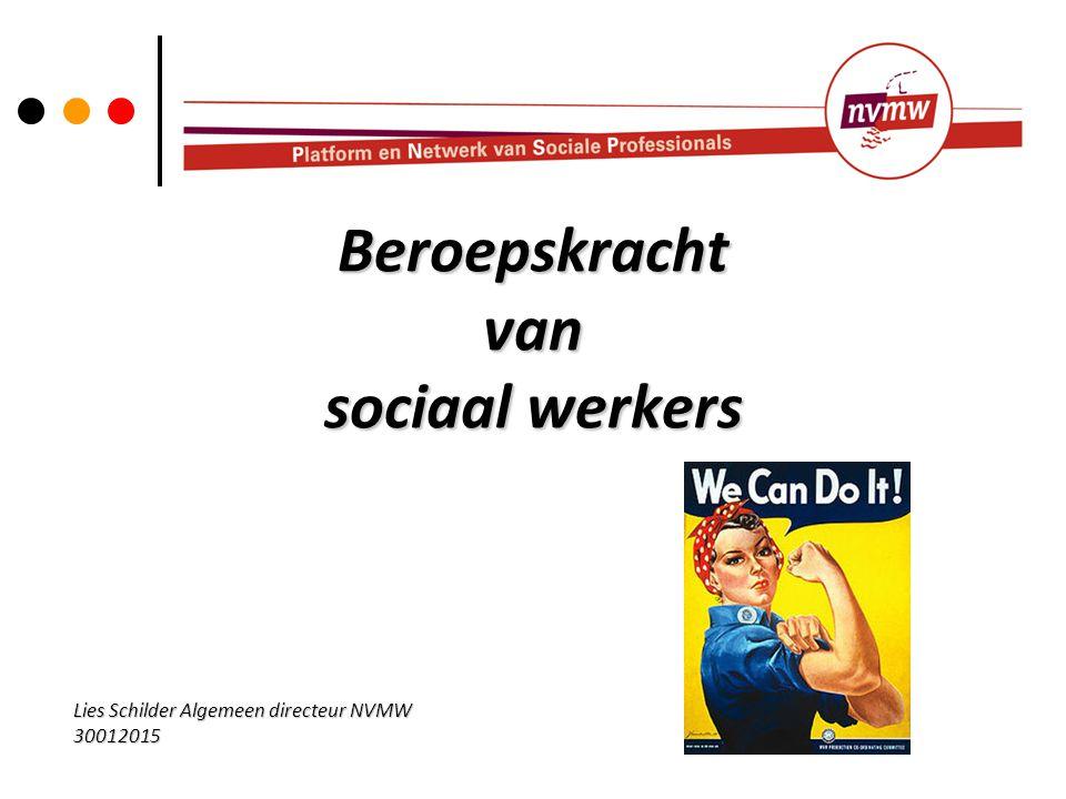 Beroepskracht van sociaal werkers