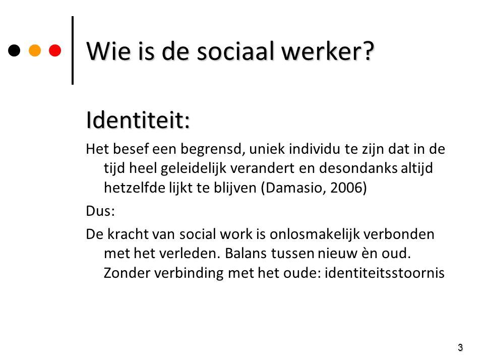 Wie is de sociaal werker