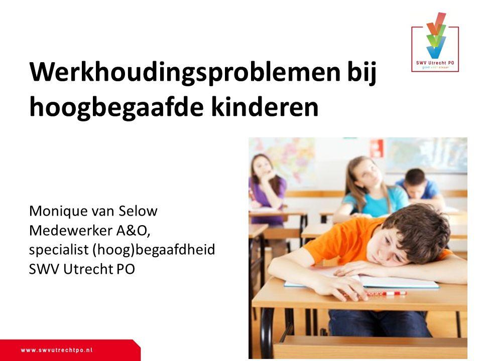 Werkhoudingsproblemen bij hoogbegaafde kinderen