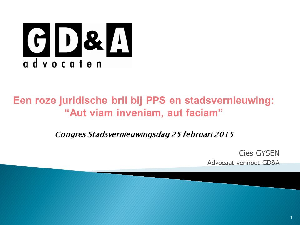 Cies GYSEN Advocaat-vennoot GD&A