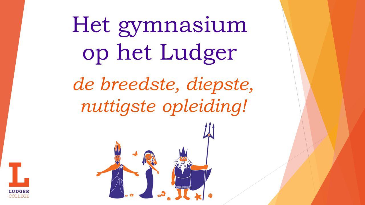 Het gymnasium op het Ludger