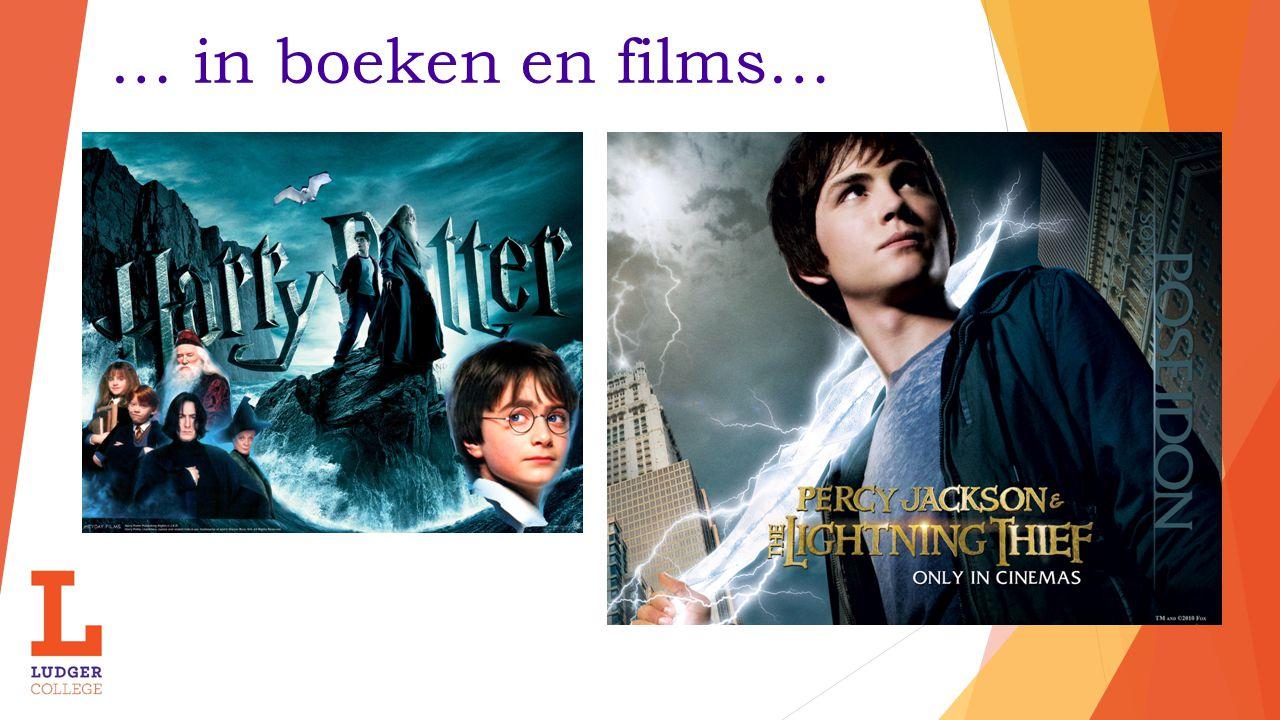 … in boeken en films…