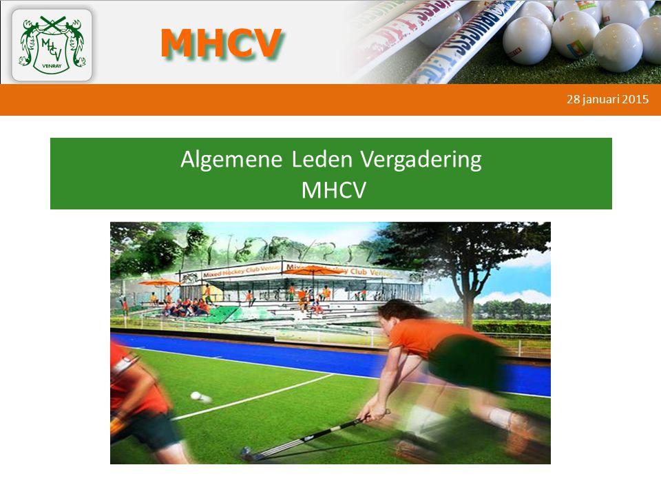 Algemene Leden Vergadering MHCV