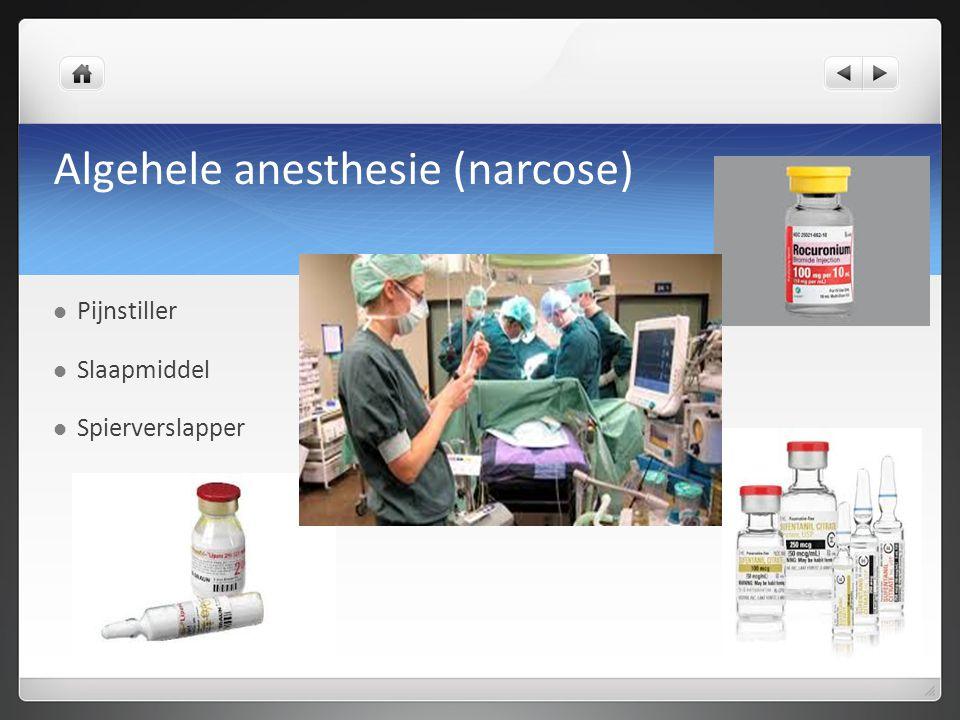 Algehele anesthesie (narcose)