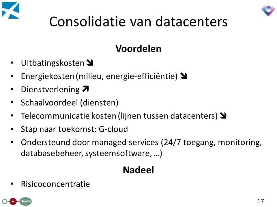 Consolidatie van datacenters
