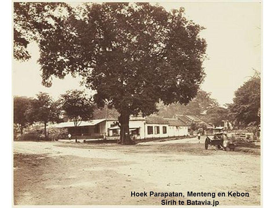 Hoek Parapatan, Menteng en Kebon Sirih te Batavia.jp
