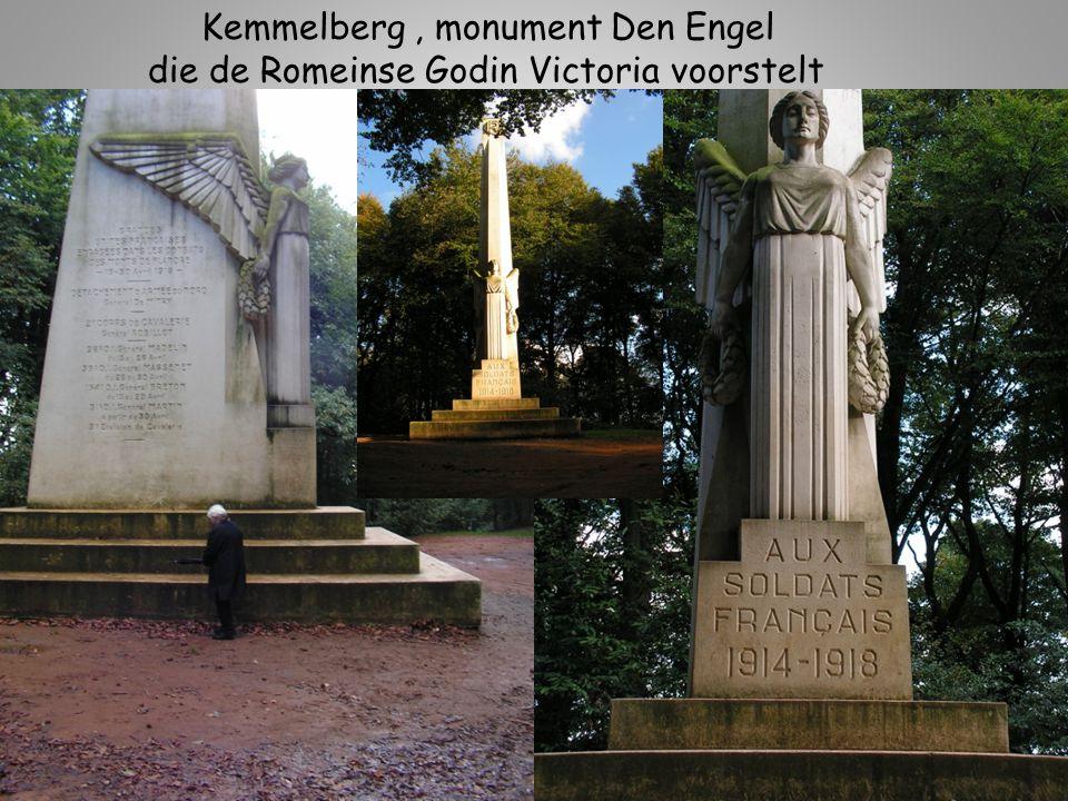 Kemmelberg , monument Den Engel