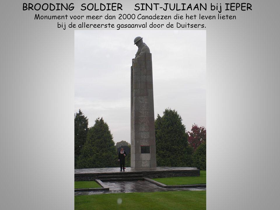 BROODING SOLDIER SINT-JULIAAN bij IEPER