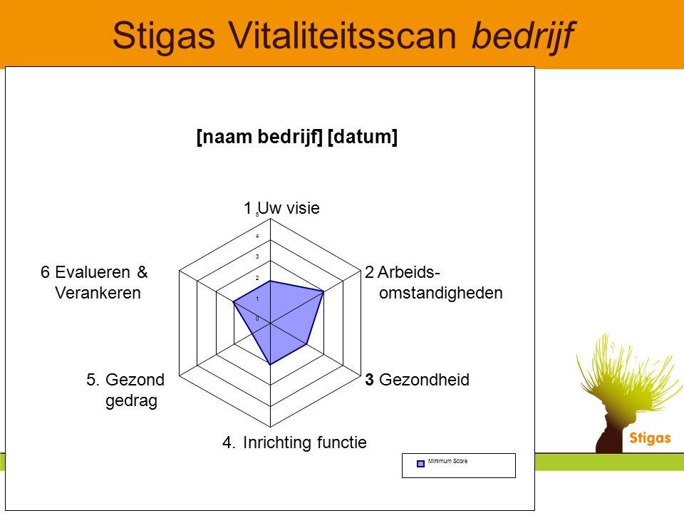 Stigas Vitaliteitsscan bedrijf