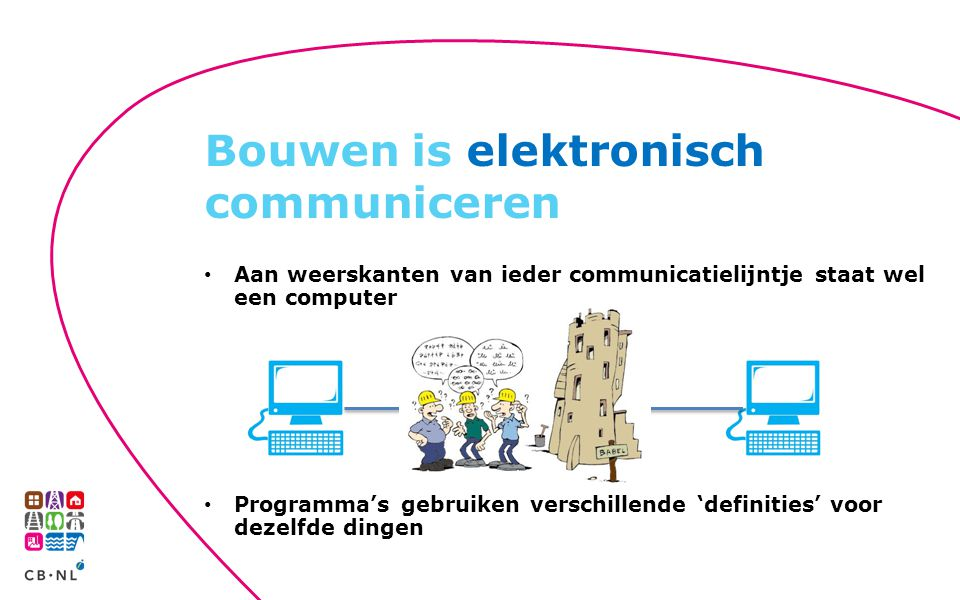 Bouwen is elektronisch communiceren