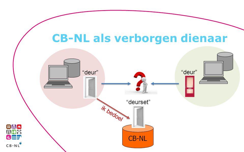 CB-NL als verborgen dienaar
