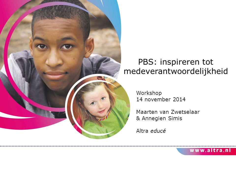 PBS: inspireren tot medeverantwoordelijkheid