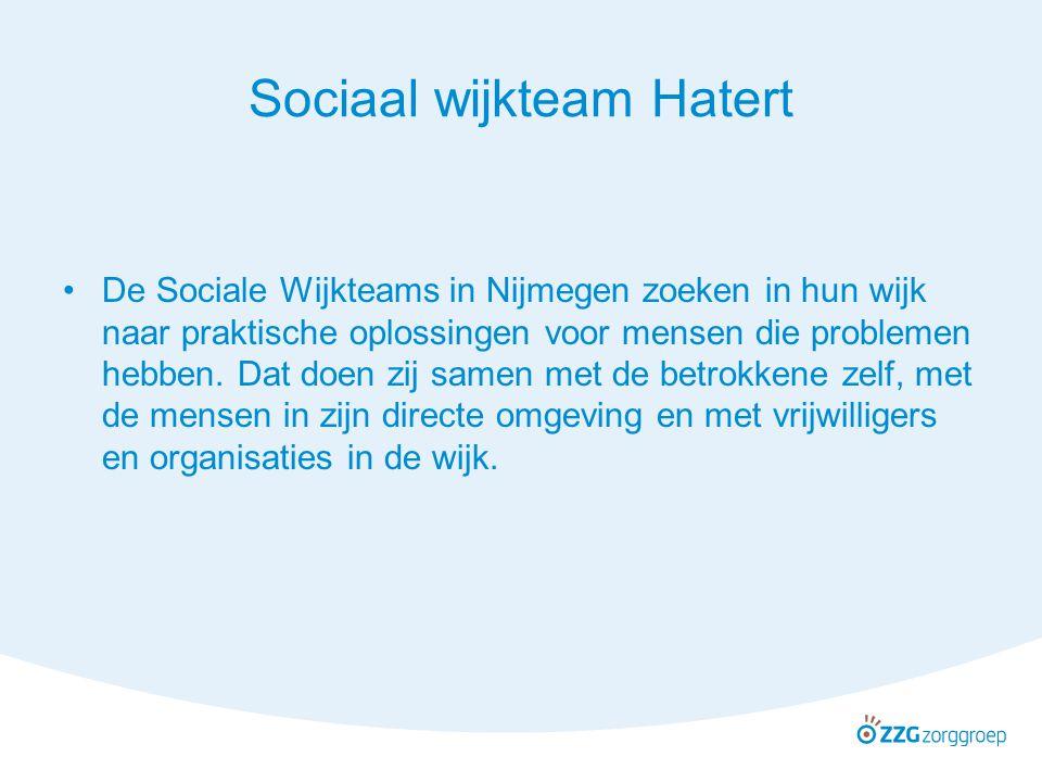 Sociaal wijkteam Hatert