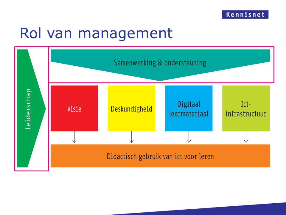 Rol van management