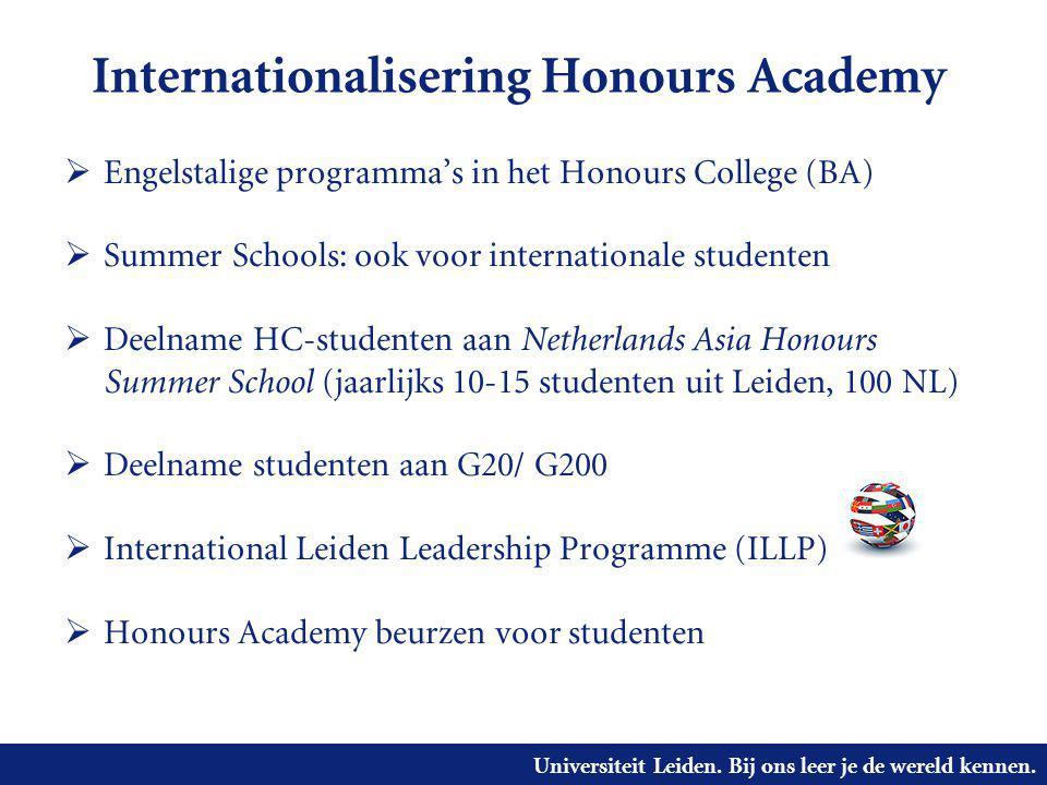 Internationalisering Honours Academy