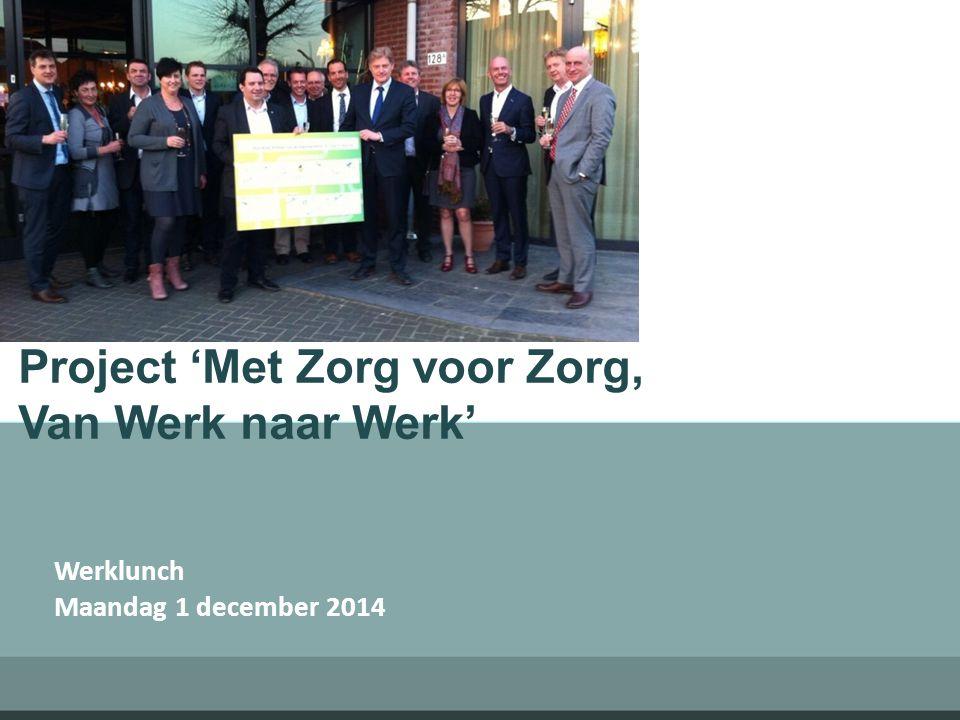 Project 'Met Zorg voor Zorg, Van Werk naar Werk'