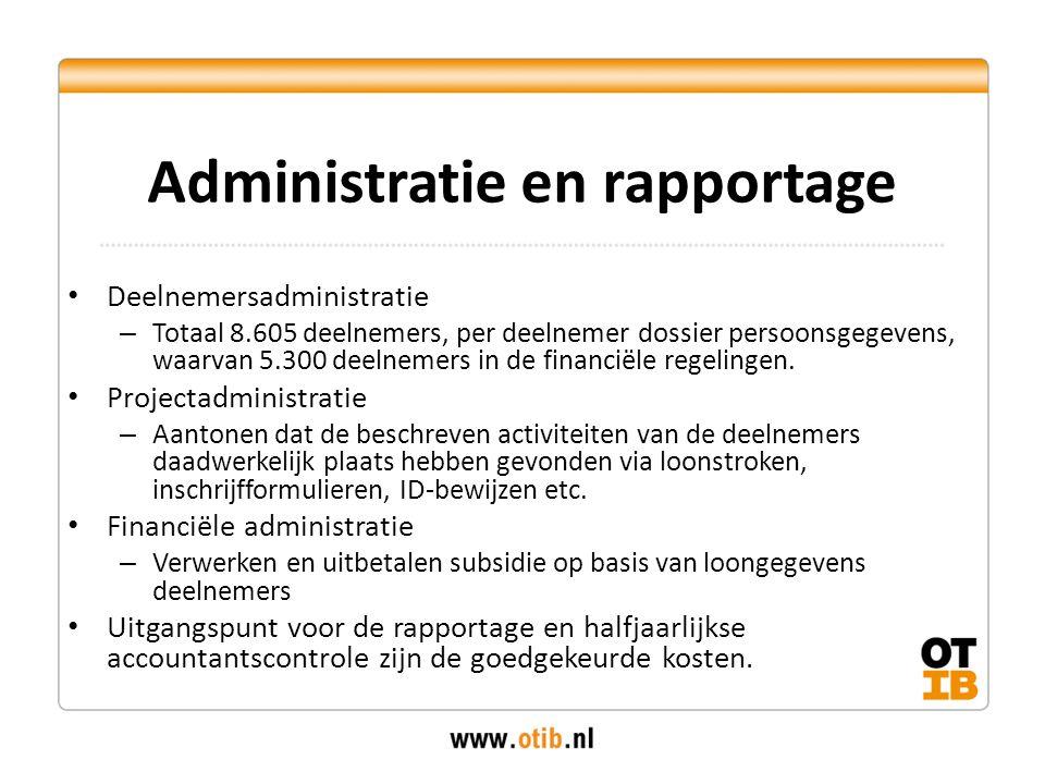 Administratie en rapportage