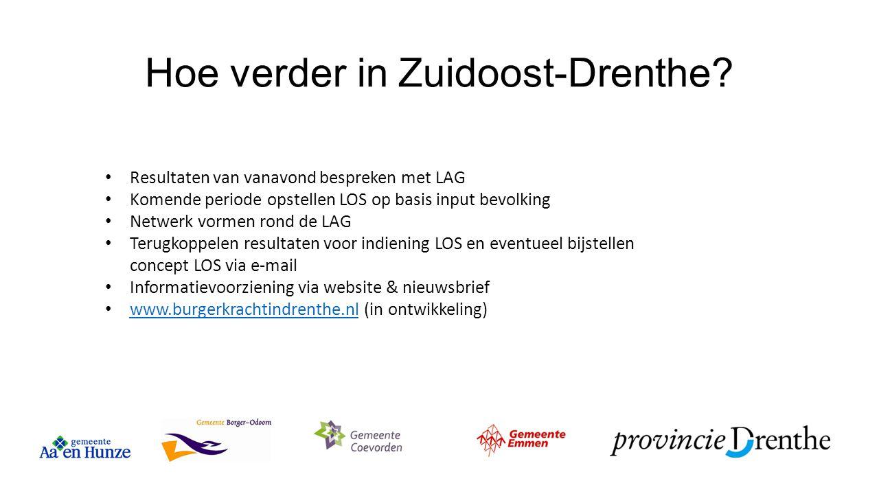 Hoe verder in Zuidoost-Drenthe
