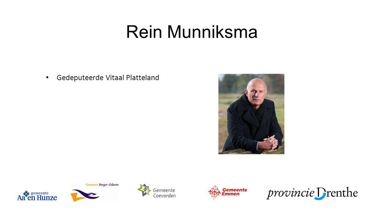 Rein Munniksma Gedeputeerde Vitaal Platteland