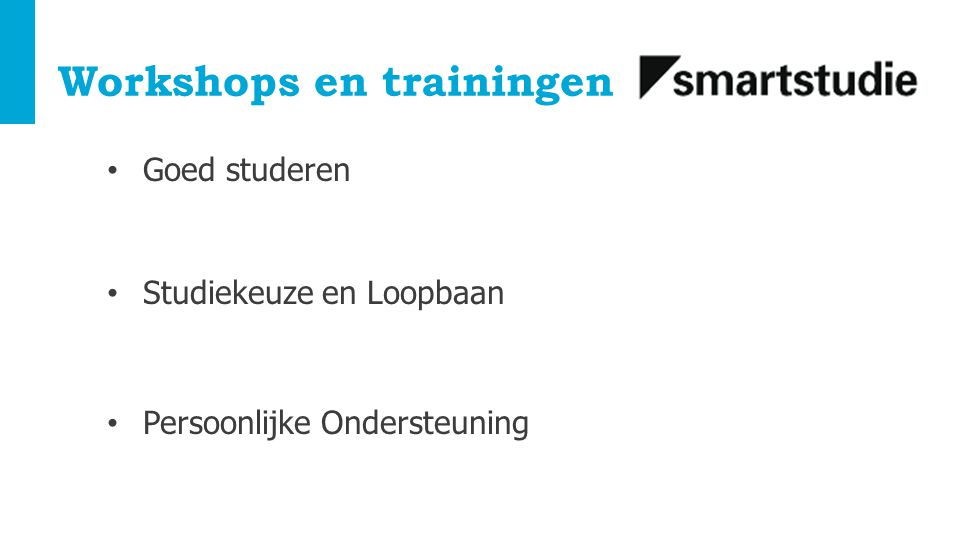 Workshops en trainingen
