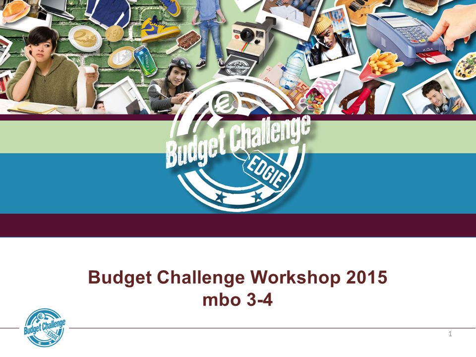 Budget Challenge Workshop 2015
