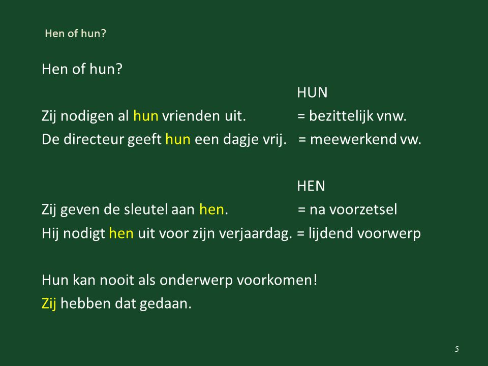 Hen of hun