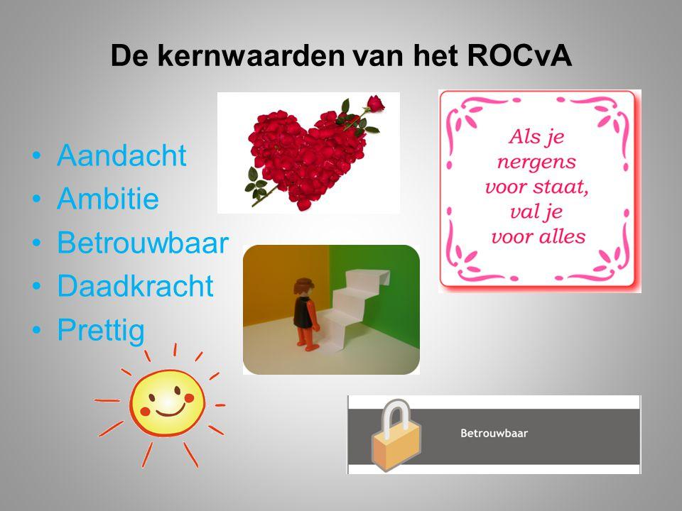 De kernwaarden van het ROCvA