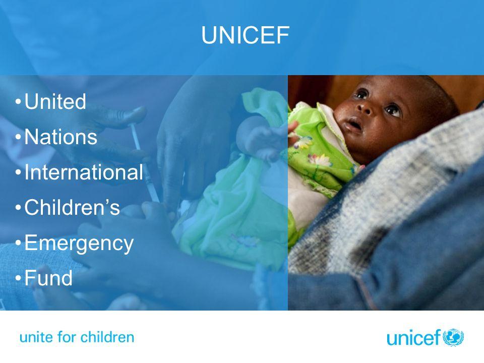 UNICEF United Nations International Children's Emergency Fund