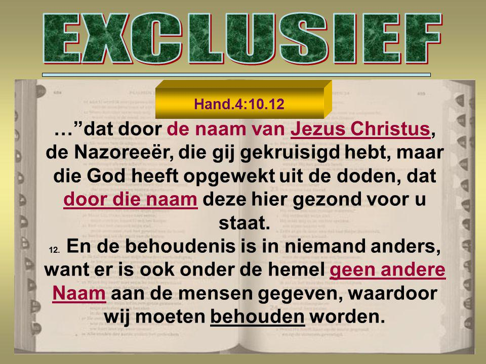 EXCLUSIEF
