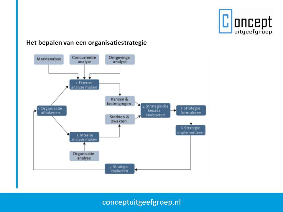 Het bepalen van een organisatiestrategie