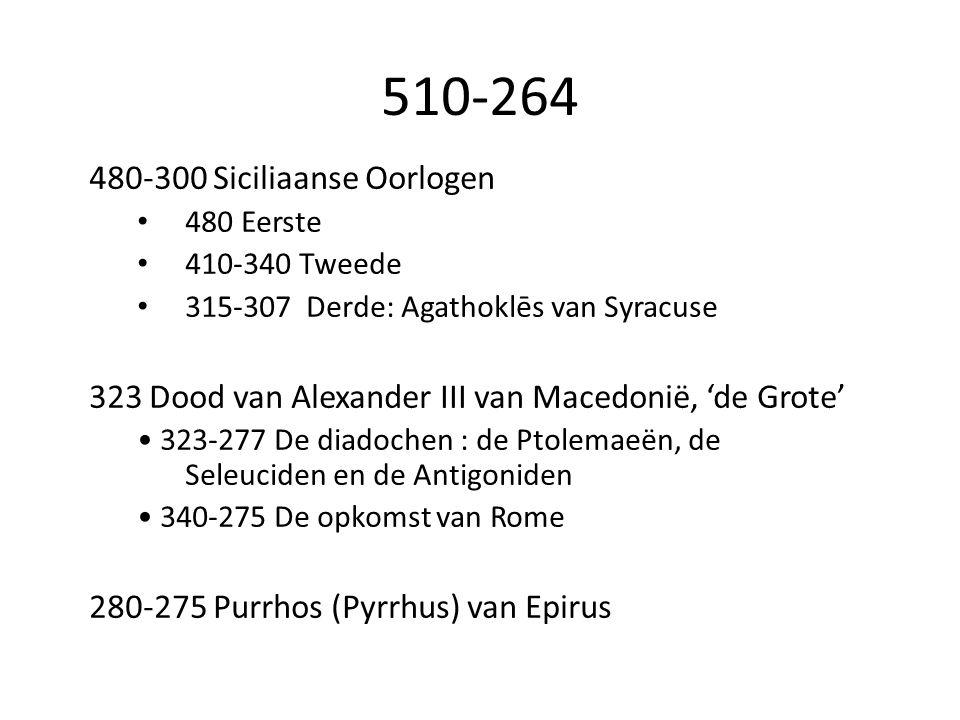 510-264 480-300 Siciliaanse Oorlogen