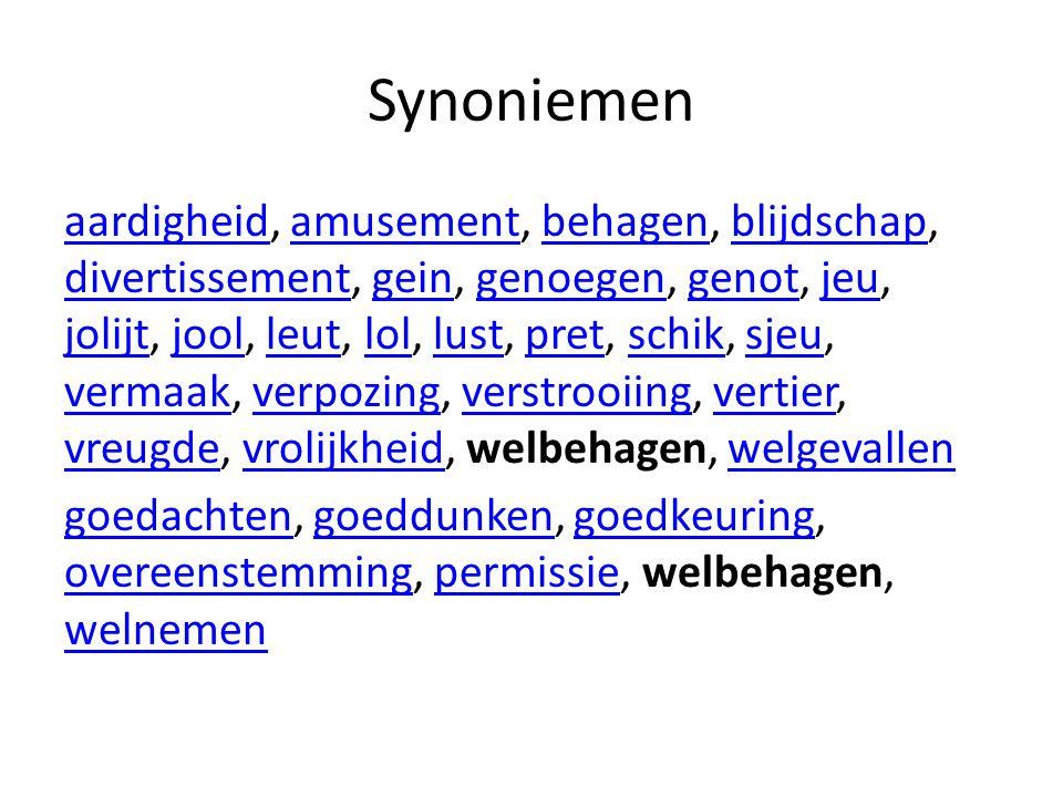 Synoniemen