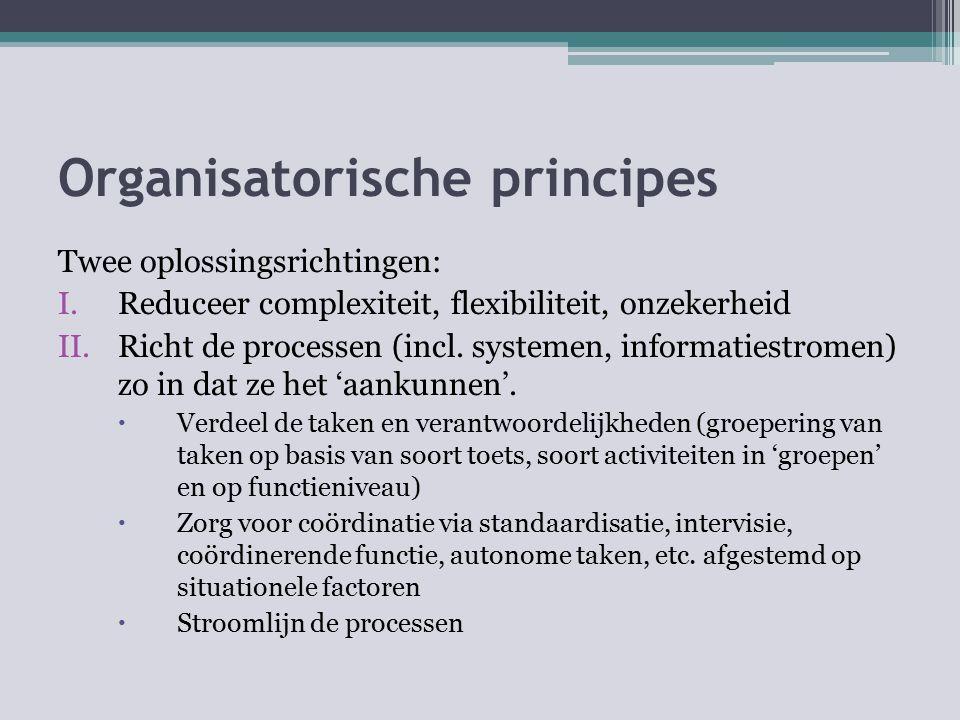 Organisatorische principes