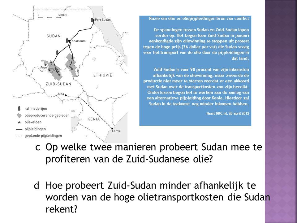 Ruzie om olie en oliepijpleidingen bron van conflict