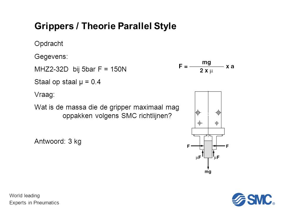Grippers / Theorie Parallel Style