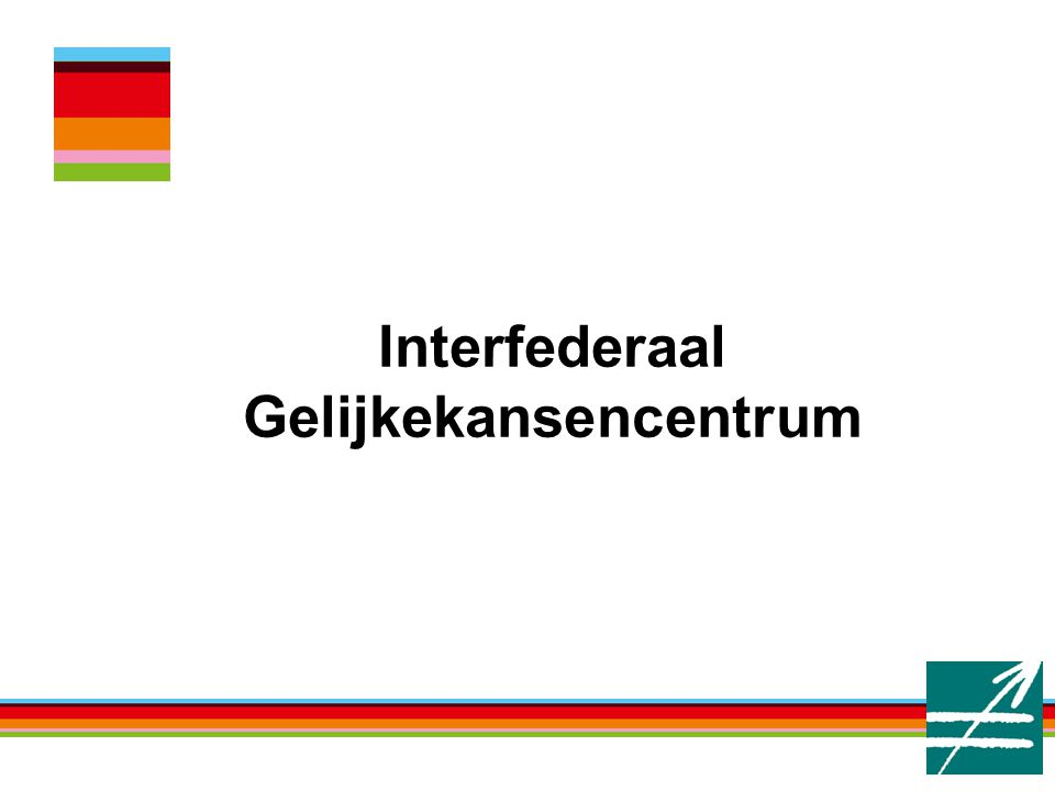 Interfederaal Gelijkekansencentrum